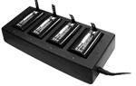 Bitatek Зарядное устройство на 4 аккумулятора для ТСД IT 8000 (8T55-0028-003)