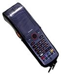Casio Чехол на молнии для DT-X7, черная кожа, со скобой